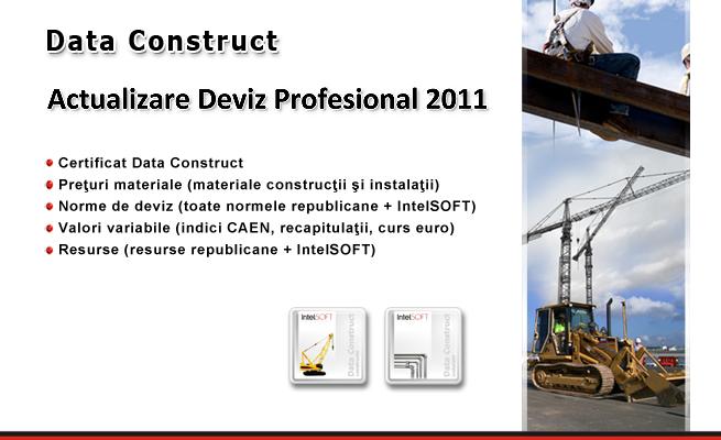 Actualizare baze de date Deviz Profesional 2011