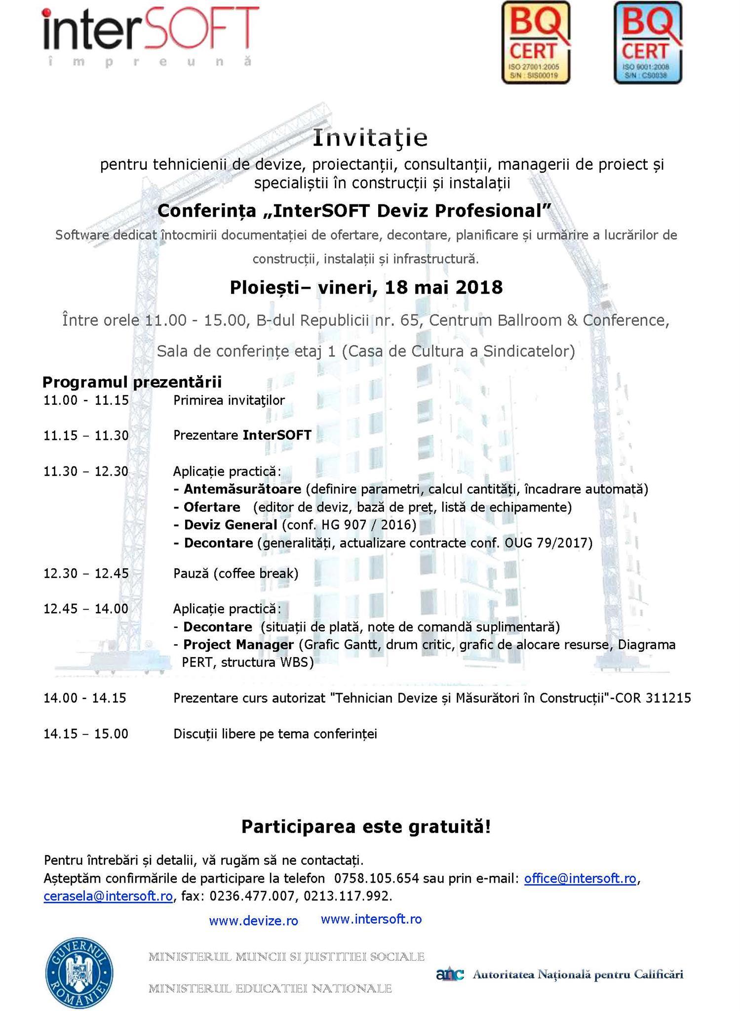 Conferinta Mai 2018